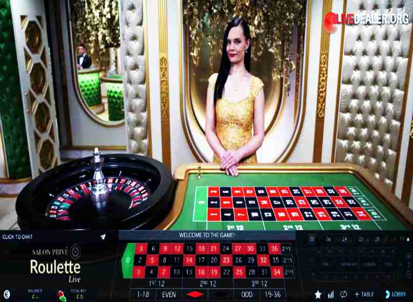 Salon Prive Roulette casino